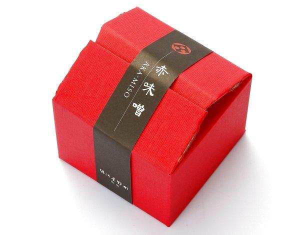 画像1: 赤味噌300g(小箱入) (1)