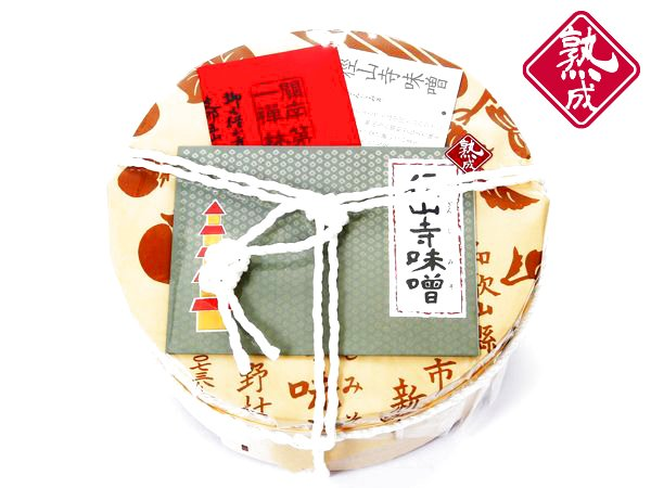 画像1: 【熟成】徑山寺味噌 600g(樽入) (1)