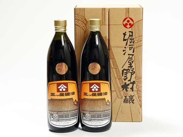 画像1: 三ツ星醤油 900ml 2本  (1)